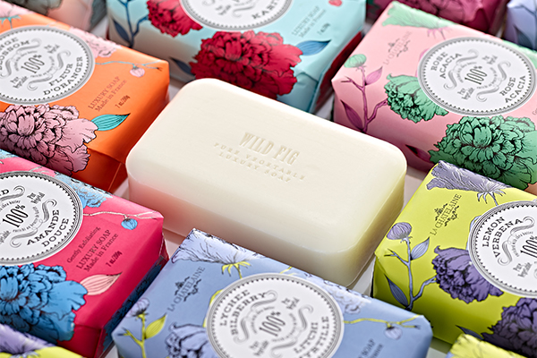 Luxury Wrapped Soaps